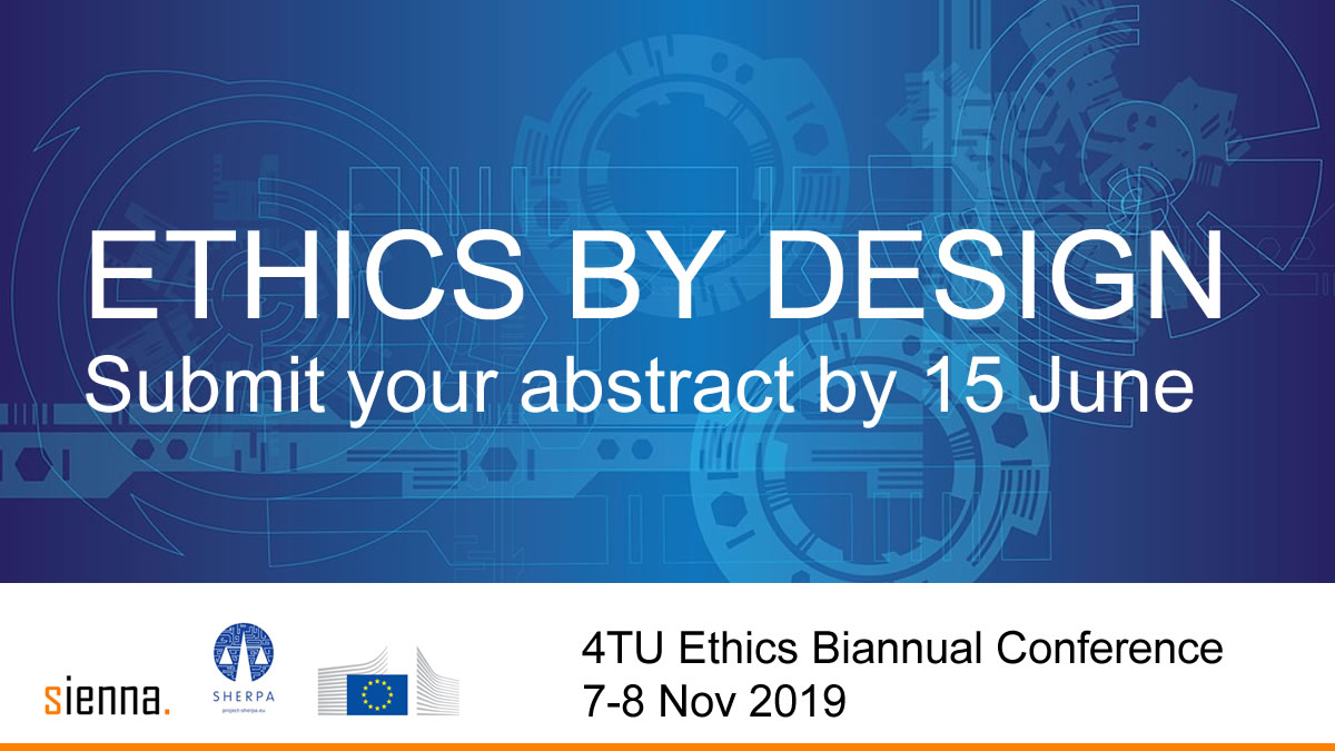 Ethics by design: Call for abstracts